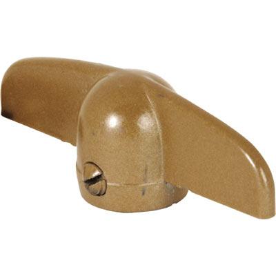 Picture of H 3801 - Casement Tee Handle, Coppertone, 11/32 inch bore, Truth, 2 per pkg.