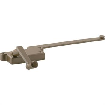 Picture of H 3914 - Casement Window Operator, LH, Surface Mount, Bronze, 9 inch Arm, 1 per pkg.