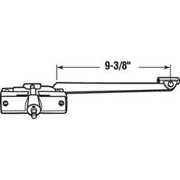 Picture of H 4015 - Andersen Casement Operator, LH, 9-3/8 inch Arm, Stone, 1 per pkg.
