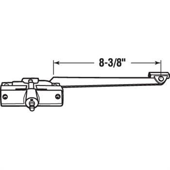Picture of H 4017 - Andersen Casement Operator, LH, 8-3/8 inch Arm, Stone, 1 per pkg.
