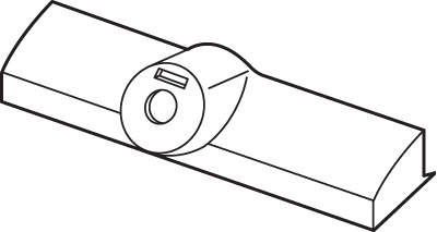 Picture of H 4027 - Andersen Plastic cover, Stone, Non-Handed,1 per pkg.