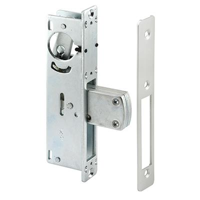Picture of J 4526 - Commercial Door  Deadbolt Lock Body, Faceplate, Aluminum Finish, Pack of 1