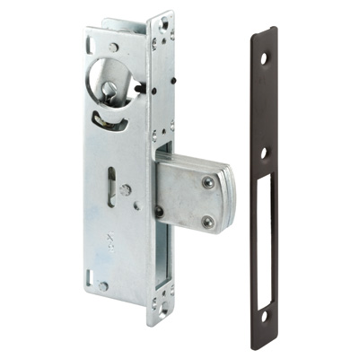 Picture of J 4527 - Commercial Door  Deadbolt Lock Body, Faceplate, Bronze Finish, Pack of 1
