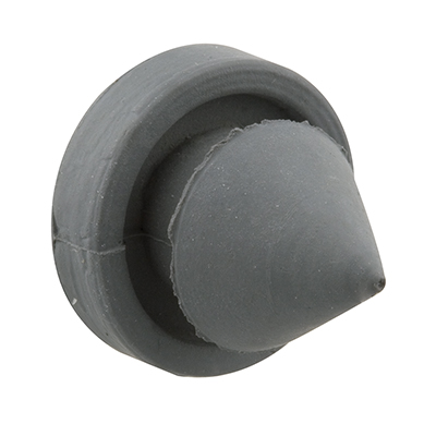 Picture of J 4566 - Rubber Door Stop Silencers, Jamb Mount, Gray, Pack of 100
