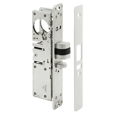 Picture of J 4574 - Commercial Door  Deadlatch Lock Body, Faceplae, Fasteners included, Pack of 1