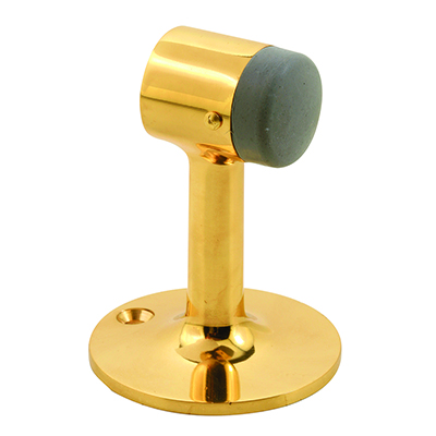 Picture of J 4614 - Floor Stop, 3-1/4 inches Tall, Cast Brass Construction, Brass, Pack of 1