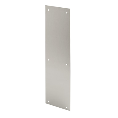 Picture of J 4626 - Door Push Plate, Stainless Steel, 4 X 16 inches,  Pack of 1