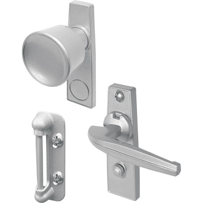Picture of K 5000 - Tulip Knob Latch, 1-3/4 inch  Mounting Holes, Aluminum, Pack of 1