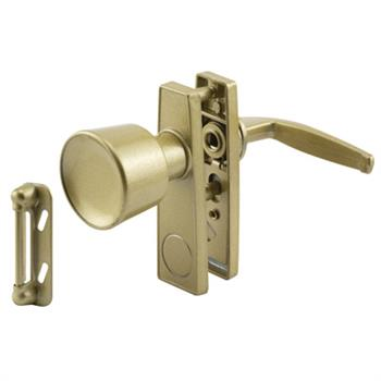 Picture of K 5002 - Tulip Knob Latch, 1-3/4 inch  Mounting Holes, Gold, Pack of 1