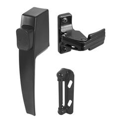 Picture of K 5007 - Push Button Screen or Storm  Door Latch, Black, Pack of 1