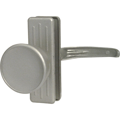 Picture of K 5077 - Tulip Knob Latch, 3 inch  Mounting Holes, Aluminum, Pack of 1