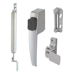 Picture of K 5112 - Screen Door Hardware Kit, Boxed, Aluminum, Push Button Handle, Closer, Pack of 1