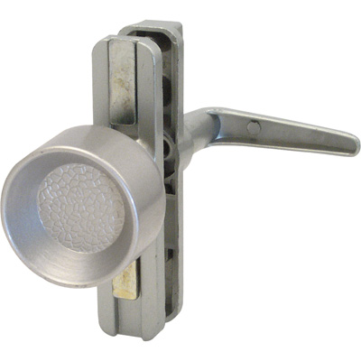 Picture of K 5149 - Universal Knob Latch,  Adjustable Mounting Holes, Aluminum, pack of 1