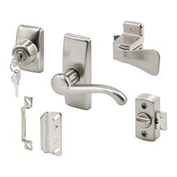 Picture of K 5152 - Georgian Style Lever Latch with Deadbolt, Satin Nickel, pack of 1