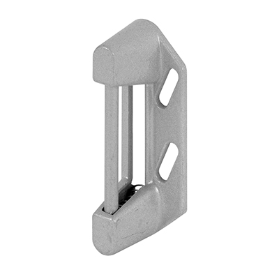 Picture of K 5194 - Screen or Storm Door  Spring Strike Plate, 7/8 inches Tall, Aluminum, Pack of 1