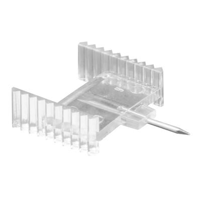 Picture of PL 15681 - Prime-Line Window Grid Retainer, 5/8 inch, Clear Plastic, 25 per tub