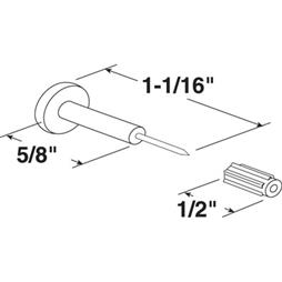 Picture of PL 15687 - WINDOW GRID RETAINER PINS