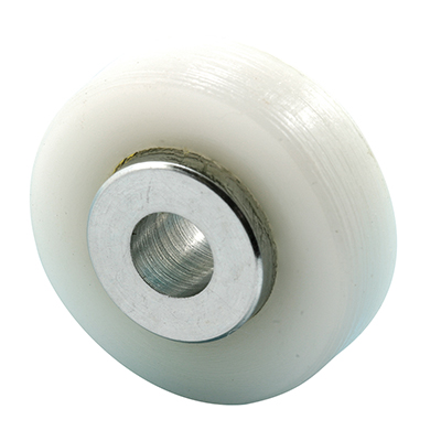 Picture of M 6005 - Shower Door Roller, Nylon Ball Bearing, Non-Threaded Hub, 3/4 inch, Pack of 2