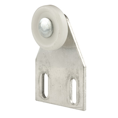 Picture of M 6009 - Tub & Shower Roller Assembly,  Flat Bracket, 7/8 inch flat roller, Pack of 2