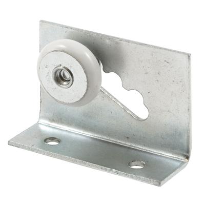Picture of M 6010 - Shower Door Roller Assembly, Aluminum Bracket, 3/4 inch Oval Nylon Roller, Pack of 2