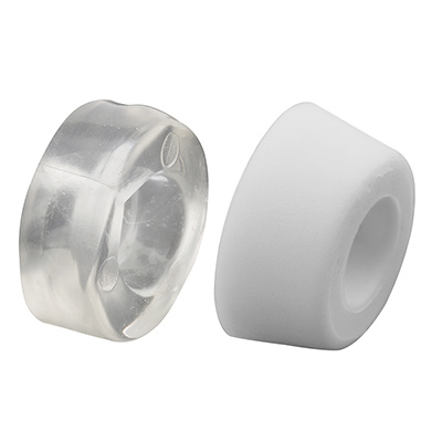 Picture of M 6026 - Tub Enclosure Anti-Slam  Rubber Bumpers, 2 Sizes, Pack of 4
