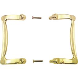 Picture of M 6030 - Shower Door Handle set, Universal Design, 3-1/2 inches, Brass, Pack of 1
