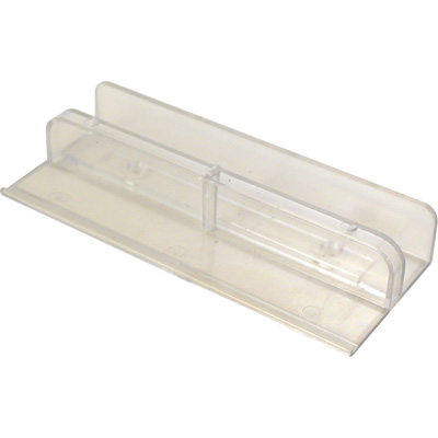 Picture of M 6067 - Tub Enclosure Bottom Guide, International Brand Clear Nylon