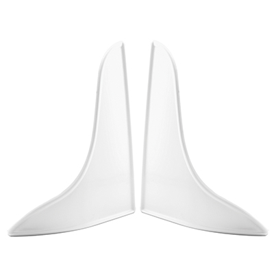 Picture of M 6086 - Tub Splash Guard, 10-3/4 inches Tall, White Plastic, Pack of 2
