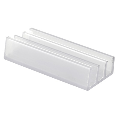 Picture of M 6089 - Frameless Tub Enclosure  Bottom Guide, Clear Plastic, Pack of 2