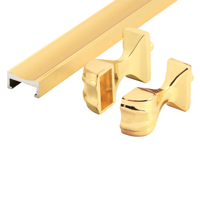 Picture of M 6094 - Tub Enclosure Towel Bar  Assembly, Brass, 32 inches, Pack of 1