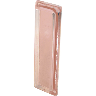 Picture of M 6102 - Clear Plastic Pull, Adhesive  Backed, Mounts easily to Glass, Pack of 2
