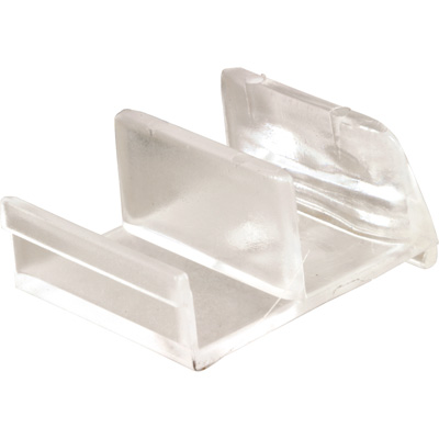 Picture of M 6111 - Tub & Shower Enclosure  Bottom Guide, Clear Plastic, Sterling, Pack of 2