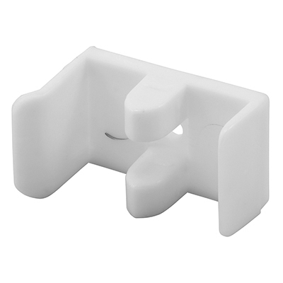 Picture of M 6112 - Tub Enclosure Bumper & Guide, Used on Sterling doors, White Nylon, Pack of 1