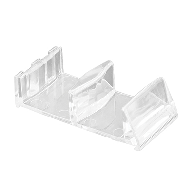 Picture of M 6113 - Tub Enclosure Bottom Guide, Clear, Plastic, Snap-In, Pack of 2