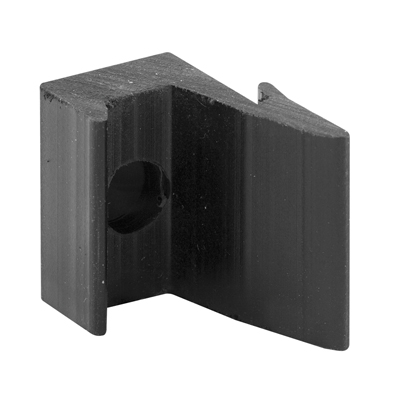 Picture of M 6120 - Shower Door Bumper Guide,  Black Rubber, Agalite Shower doors, Pack of 2