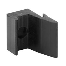 Picture of M 6120 - Shower Door Bumper Guide,  Black Rubber, Agalite Shower doors, Pack of 2
