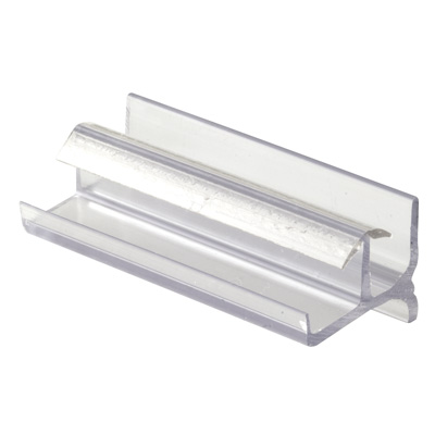 Picture of M 6144 - Tub Enclosure Botom Guide, Workright Products, Clear Plastic, Snap-In, Pack of 1