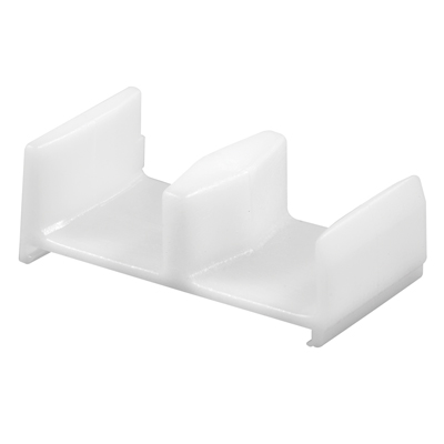 Picture of M 6148 - Tub Enclosure Bottom Guide,  White, Plastic, Snap-In, Miller Door, Pack of 2