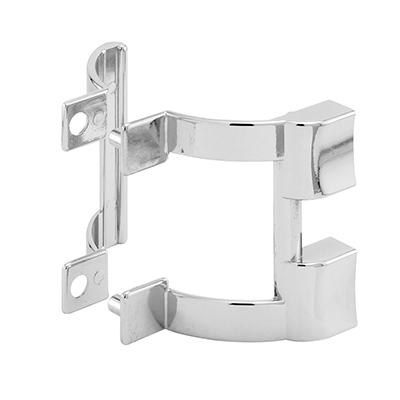 Picture of M 6198 - Shower Door Handles  & Towel Bar Bracket, Chrome, 2-1/4 in. Centers, Pack of 1 set