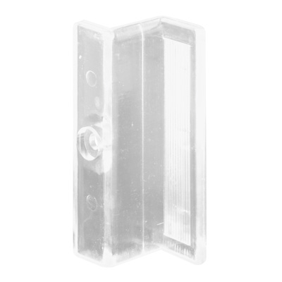 Picture of M 6220 - Swing Shower Door Handle, Clear Acrylic, 2-1/2 inches tall, pack of 2