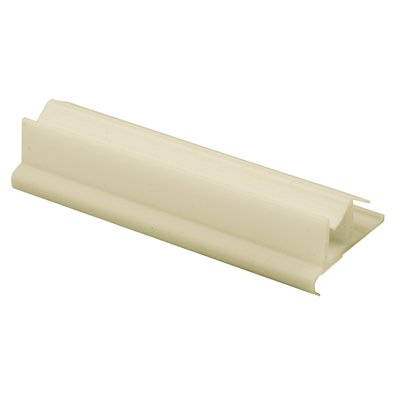 Picture of M 6222 - Tub Enclosure Bottom Guide, White Plastic, Snap-In,  Pack of 1