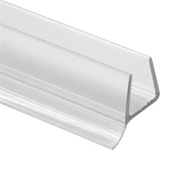 M 6264 Shower Door Bottom Seal For Frameless Doors 3 8