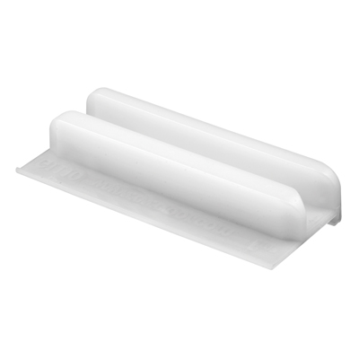 Picture of M 6266 - Tub & Shower Enclosure Bottom Guide, Self-Adhesive, White Plastic, pack of 1