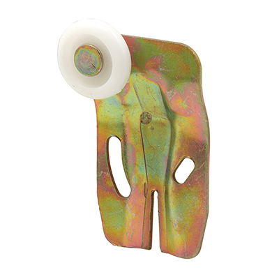 Picture of N 6504 - Wardrobe Door Roller  Assembly, Front, 7/8 inch nylon roller, Pack of 2