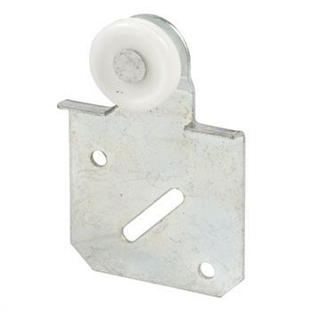 Picture of N 6510 - Closet Door Roller, 1 inch  convex roller, 1/8 inch offset, Adjustable, Pack of 2