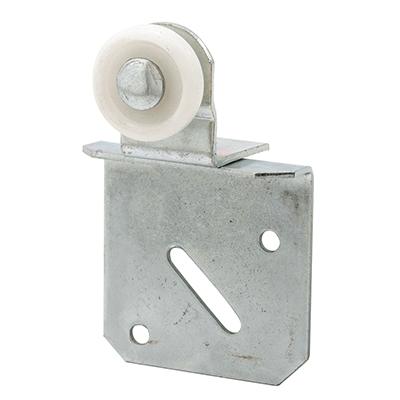 Picture of N 6511 - Closet Door Roller, 1 inch  convex roller, 2 piece adjustable bracket, Pack of 2