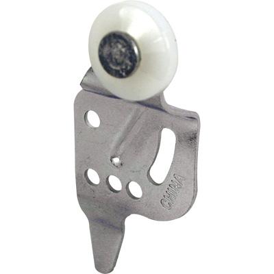 Picture of N 6525 - Wardrobe Door Roller, Back Panel, 5/8 in. offset, 3/4 in. nylon roller, Pack of 2