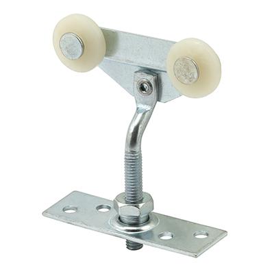 Picture of N 6527 - Top Center Mounted Tandem Roller, 3/4 in. Convex Nylon Roller, Adjustable, 1 per pkg.