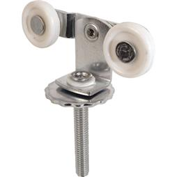 Picture of N 6529 - Top Center Mounted Tandem Roller, 1 inch Flat Nylon Roller, Adjustable, 1 per pkg.