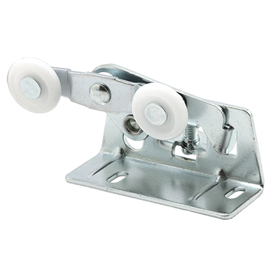 Picture of N 6530 - Pocket Door Tandem Roller, Stamped Steel, Nylon Rollers, Pack of 2